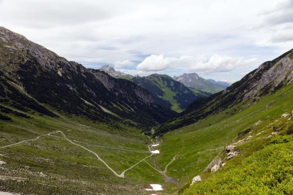 Hüttentour durchs Lechquellengebirge